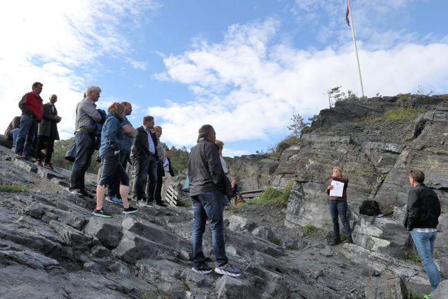 Steinvika m guide gruppe